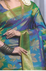 Marvellous Multi Color Soft Silk Designer Saree FN178