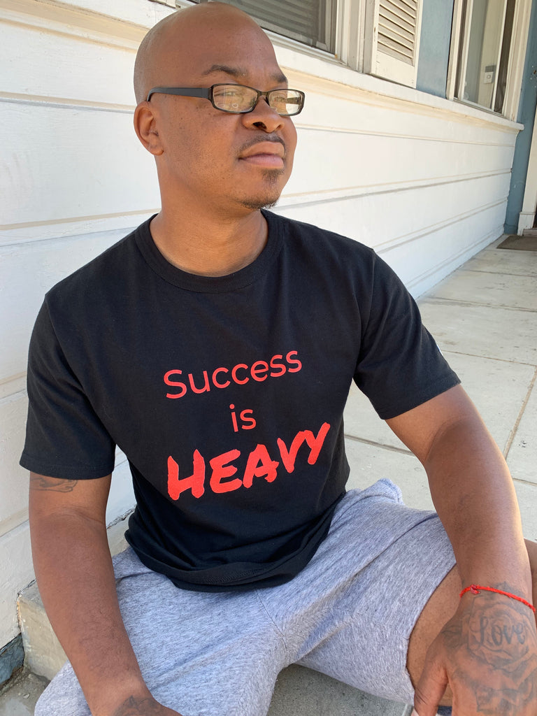Success is HEAVY Champion T-Shirt