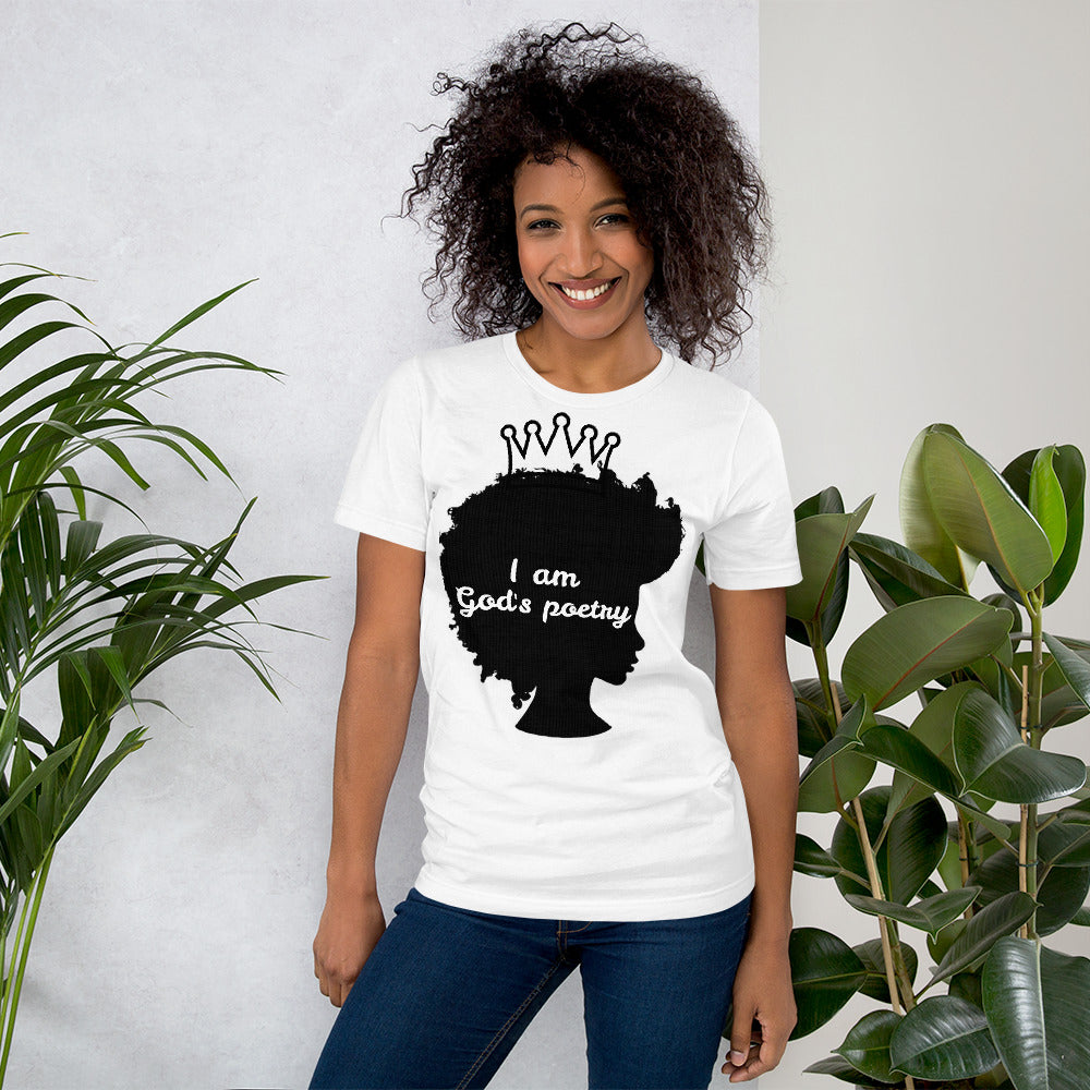 God's Poetry Front and Back Short-Sleeve Unisex T-Shirt - Piece Of Everything