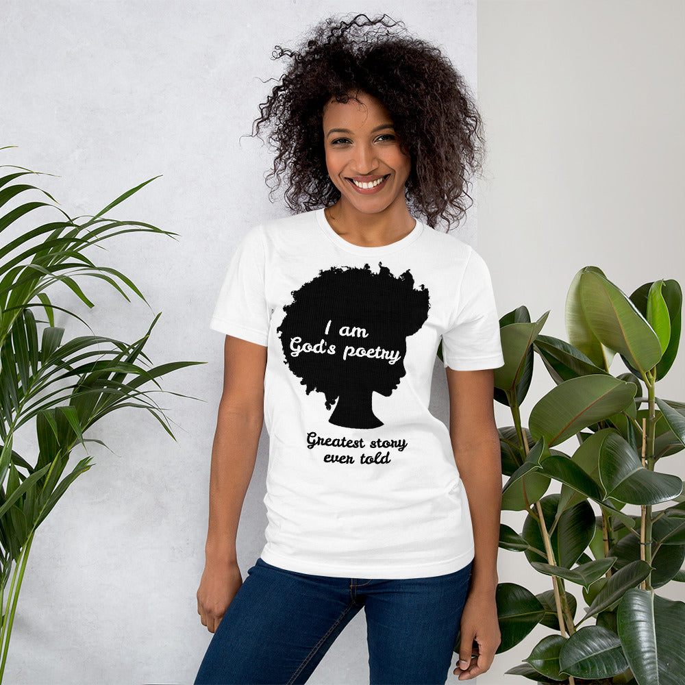 God's Poetry Short-Sleeve Unisex T-Shirt - Piece Of Everything