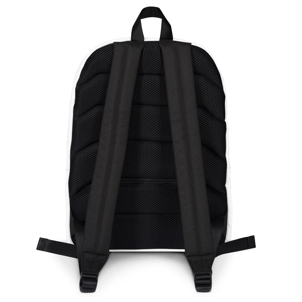 Exclusive Black is the New Gold Backpack (With message on top)