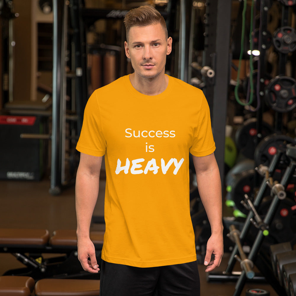 Success is HEAVY Unisex Champion T-shirt