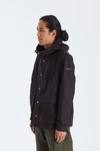 Back Satin Mountain parka