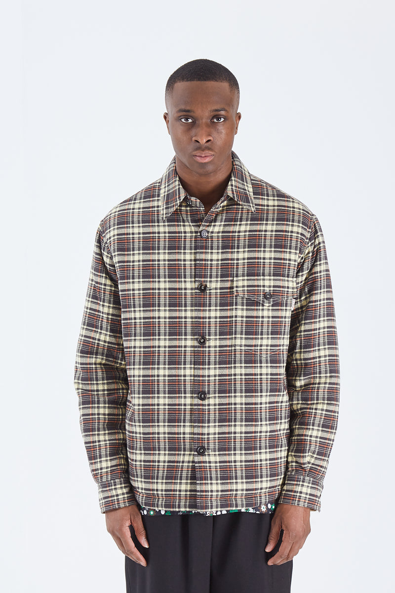 Check Quilted Shirt