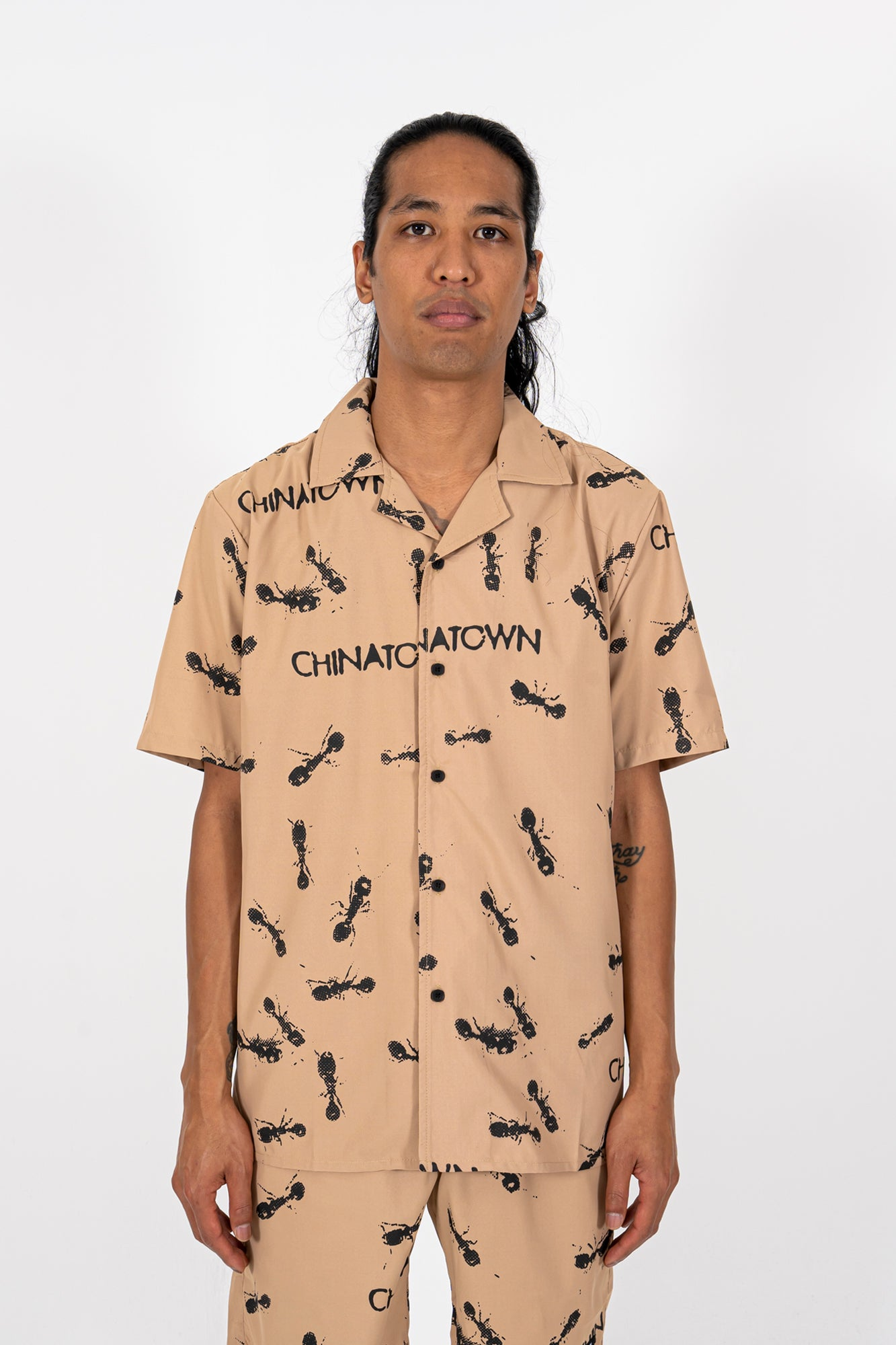 Ants Button Up SS Shirt