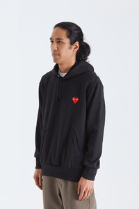 Mens Sweatshirt . Red Heart
