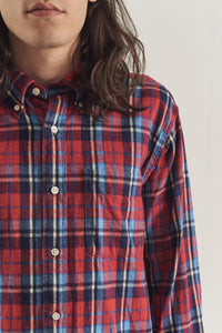 Brushed plaid BD shirt