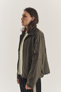 Cropped shelter coat