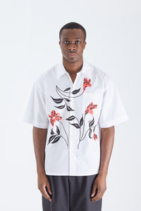 Painted Flower S/S Shirt