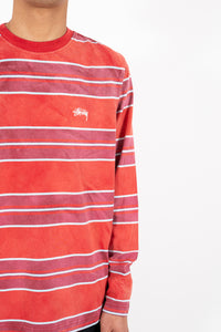 Bleach Stripe LS Crew