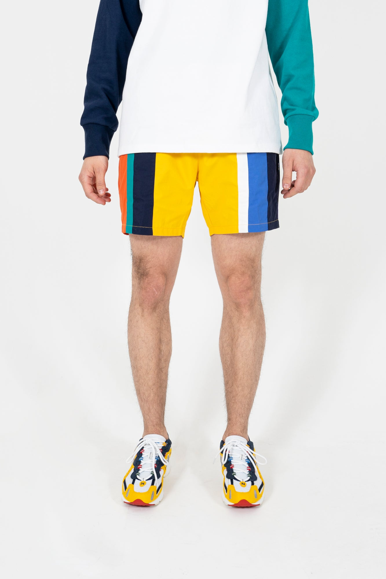 Retro Stripe Short