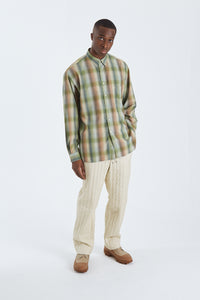 Super Light Wool Check Shirt