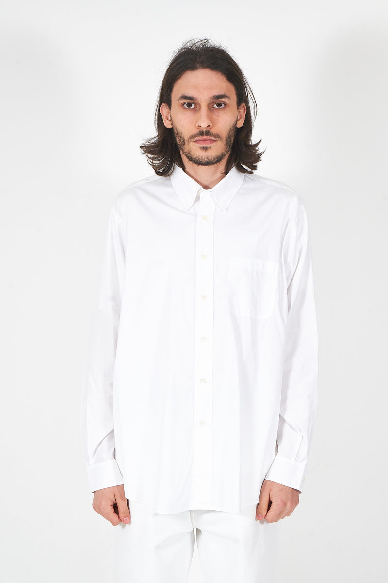 New BD Shirt White Poplin