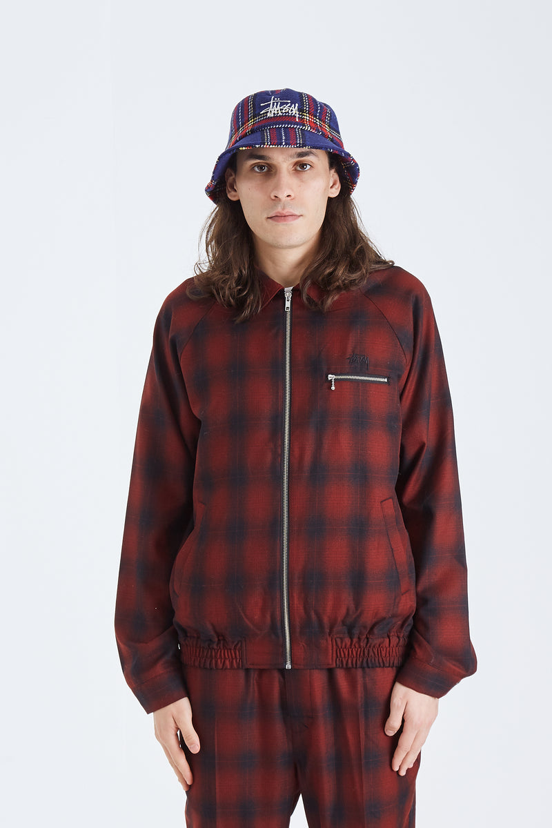Shadow Plaid Bryan Jacket