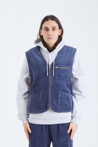 Wide Wale Reversible Vest