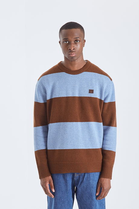 Block Stripes Sweater