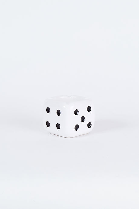 Ceramic Dice Ashtray