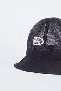 Mesh Crown Bell Bucket Hat