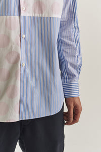 Half stripe shirt