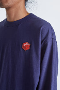 Triple LS Cotton T-Shirt 95 Emblem Front