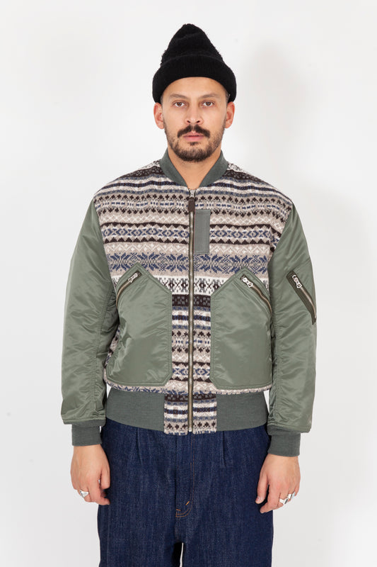 Mens Bombers Jacket  HDJ029
