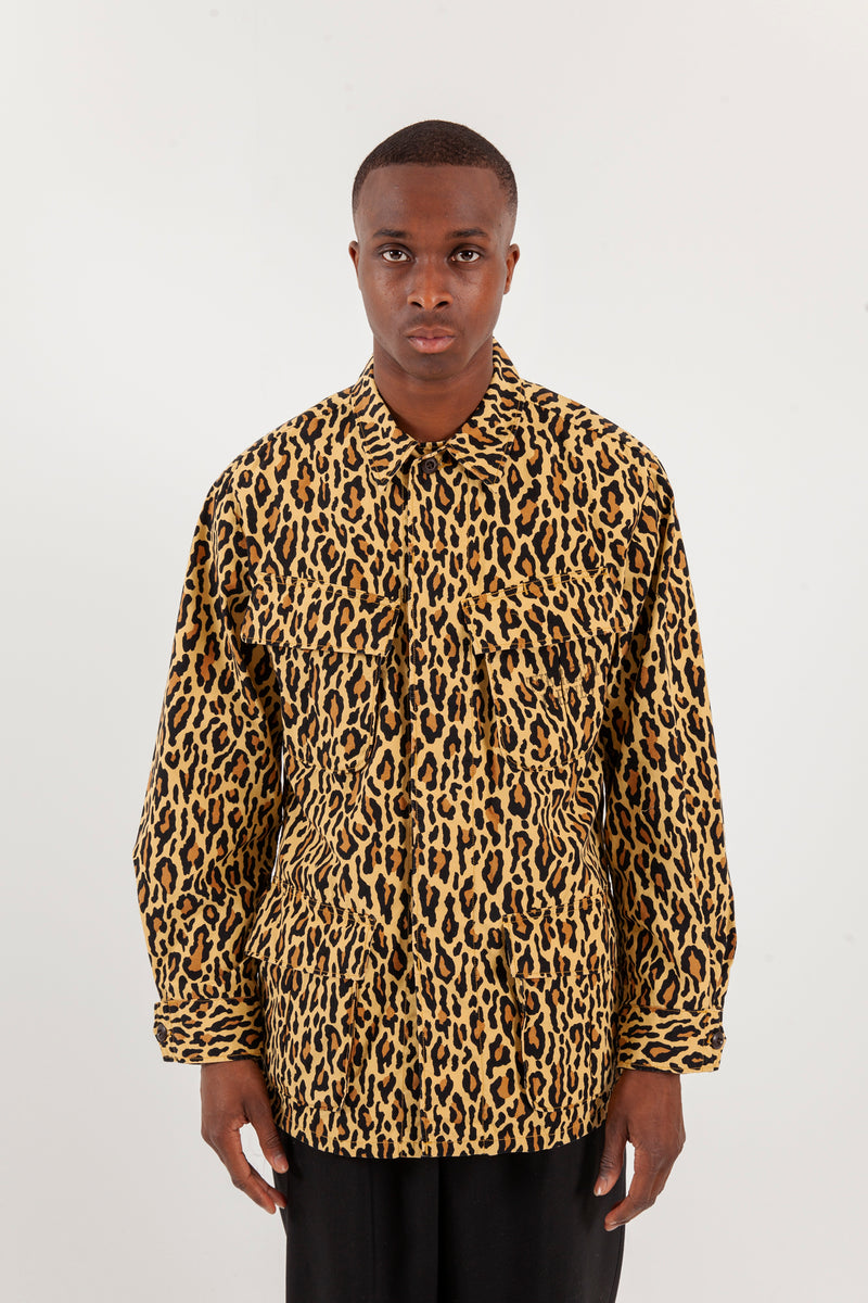 Leopard Fatigue jacket