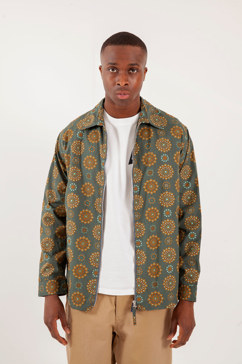 Nash Printed Drizzler Jacket