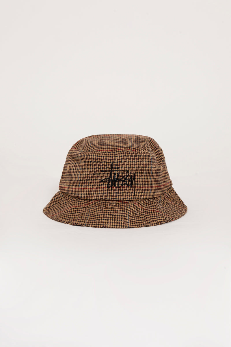 Big Logo Check Bucket Hat