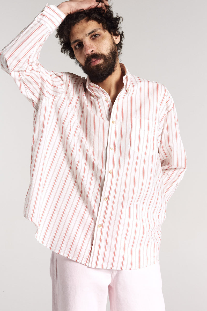 Borrowed stripe shirt