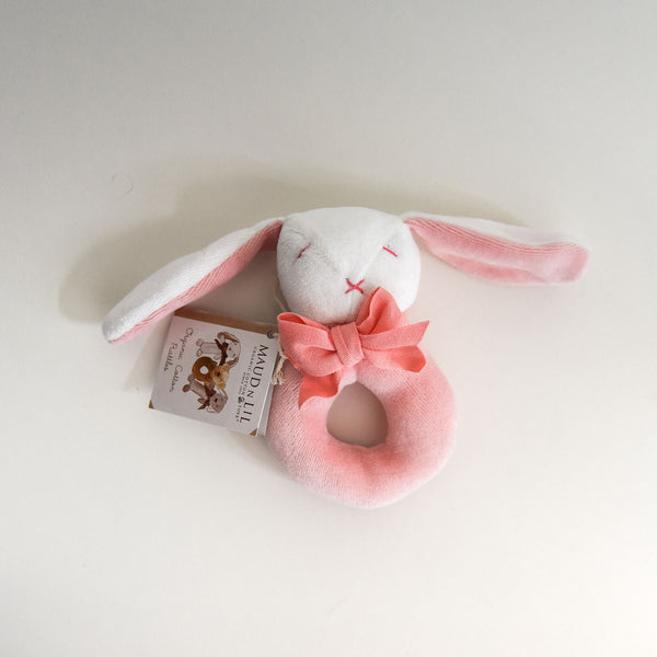 Bunny Donut Rattle - Pink