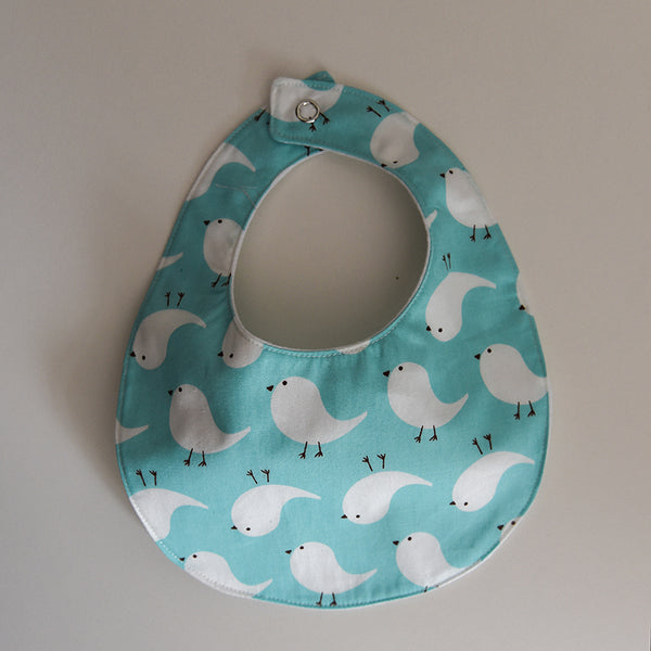 Tweety Bird Baby Bib - Mint