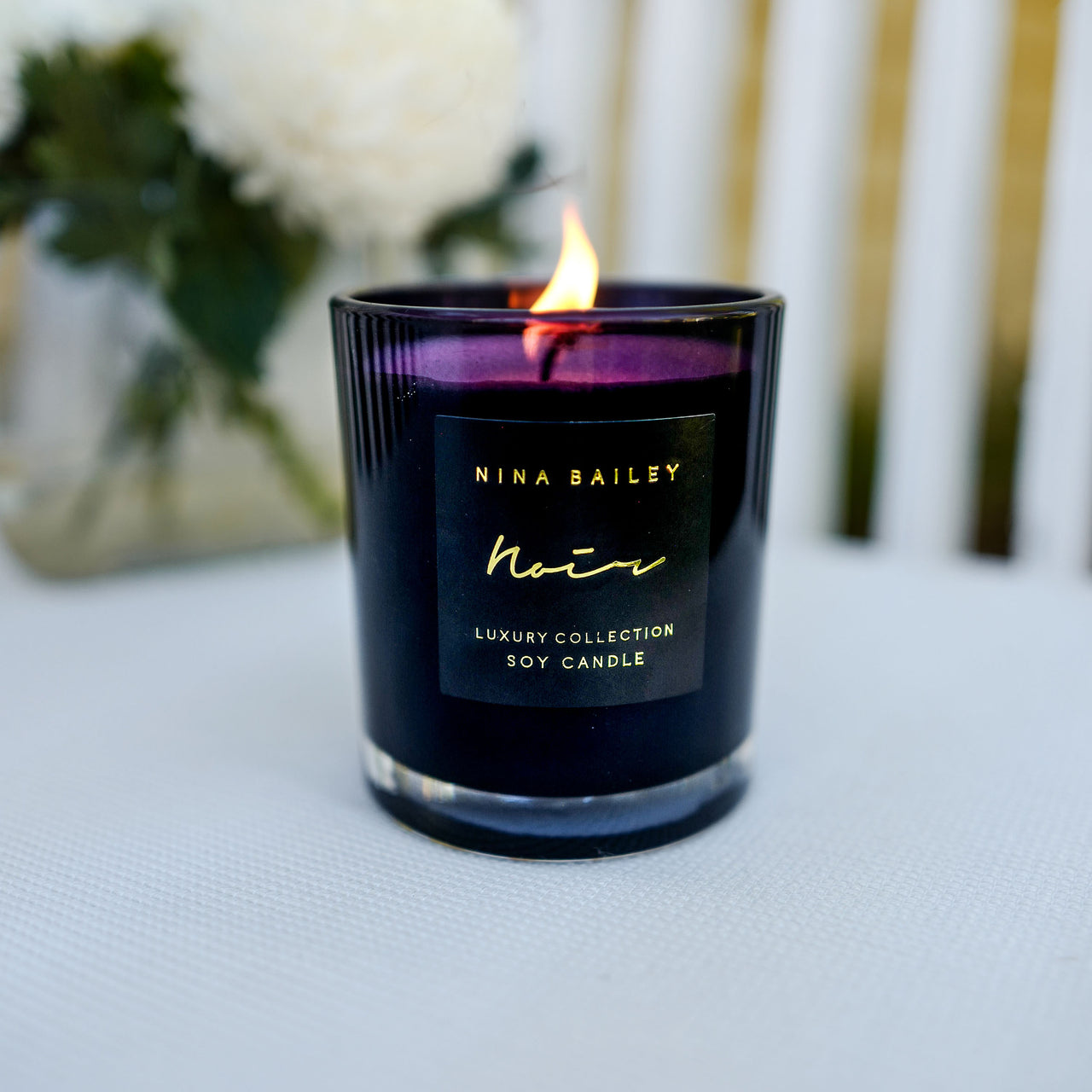 Noir Oxford Large Candle