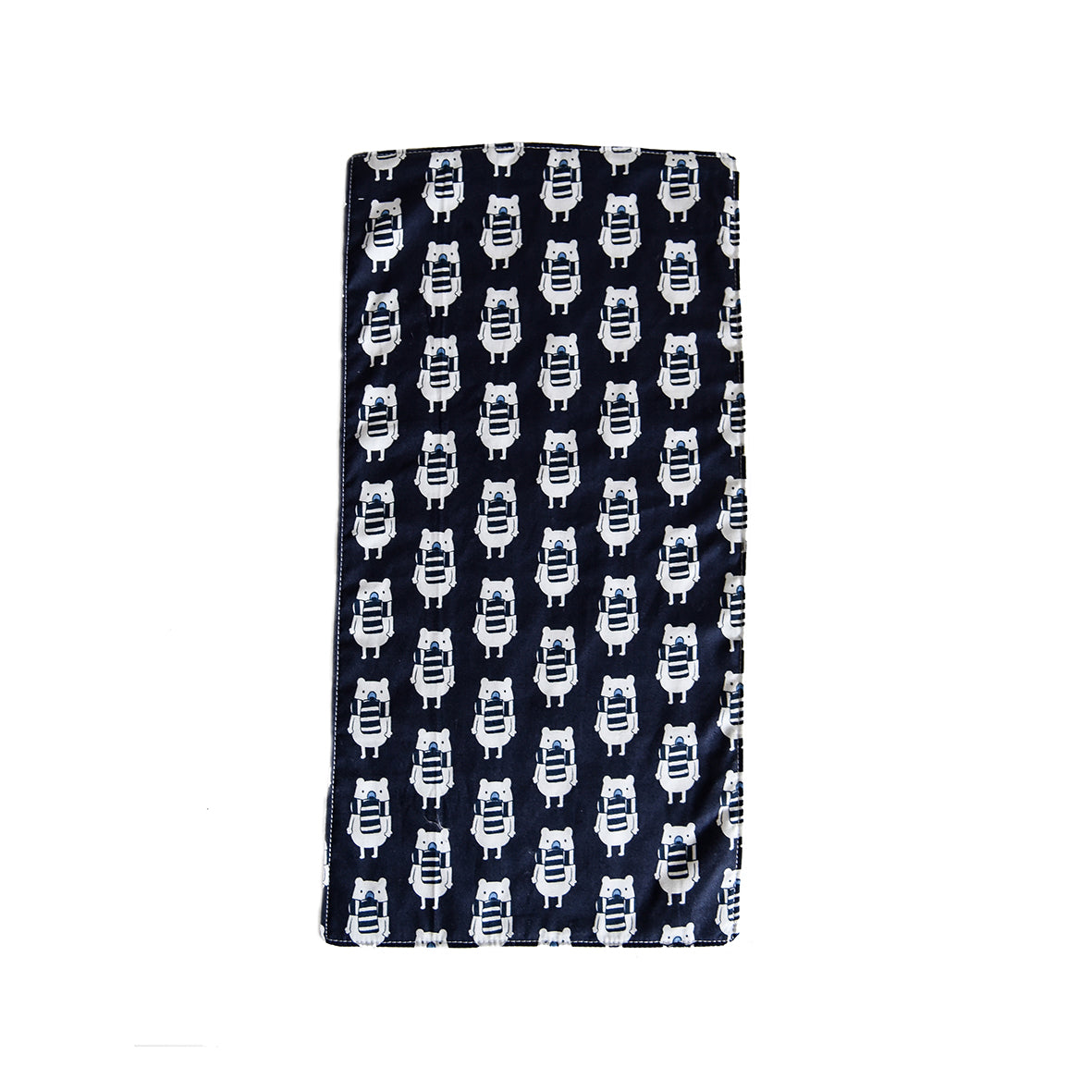 Polar Bear Burp Cloth -Blue