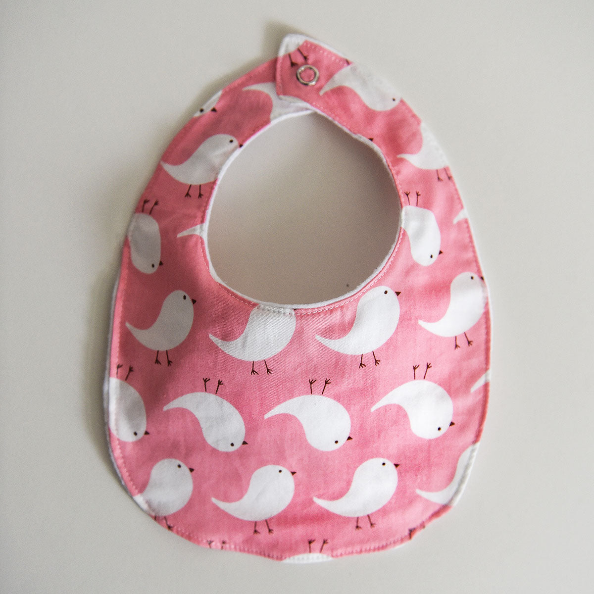 Tweety Bird Baby Bib - Pink
