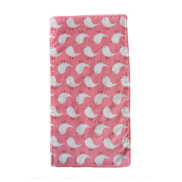 Tweety Bird Burp Cloth - Pink