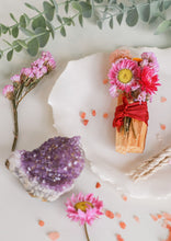 Load image into Gallery viewer, Palo Santo, Incense, Crystal Bundle