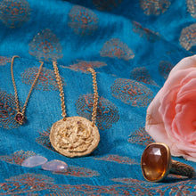 Load image into Gallery viewer, Wisdom Of My Soul Necklace Gold Vermeil