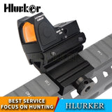 Hlurker Hunting Glock Optical Micro Reflex Red Dot Sight Scope Riflescope Adjustable Brightness Rifle Scopes Airsoft Optics Sigh
