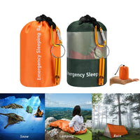 Camouflage Emergency Survival Sleeping Bag Portable Waterproof Reusable Thermal Sleeping Bags