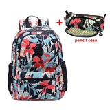 ACEPERCH Casual Original Bolsa School Backpack for Teenage Girl Waterproof Nylon Laptop Mochila Escolar With Keychain