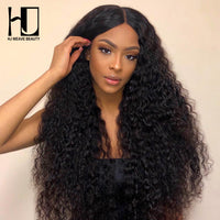 13x6 Curly Human Hair Wigs Brazilian Virgin Hair Lace Front Human Hair Wigs HD Swiss Thin Lace Pre Pluck Hairline With Baby Hair