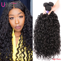 Unice Hair Kysiss Water Wave High Ratio Brazilian Hair Virgin hair 8-26 inch Bundles 1/3/4 Piece 100% Human Hair Weave