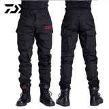 Daiwa Fishing Pants Outdoor Camping Hiking Windproof Men Trousers Python Breathable Quick Dry Print Camouflage Fishing Pants Set