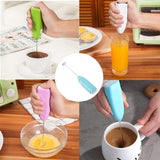 Mini Portable Handle Electric Mixer Drink Milk Egg Frother Foamer Whisk Stirrer Beater Mini Blender Mixer