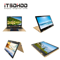 11.6 inch Multi Touch laptop 4GB RAM 160GB Storage Intel J3355 metal notebook  computer iTSOHOO ultrabook  metal