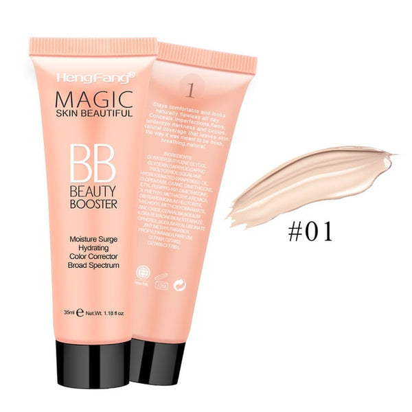 Moisten Magic Skin Beautiful BB Cream 3 Colors 35ml Face Makeup Brand HengFang #H8441