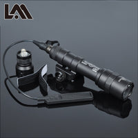 400 Lumens Tactical SF M600B Scout Light Lanterna Airsoft Flashlight Hunting Keymod Rail Mount Weapon light Pistol Gun Light