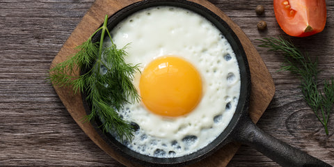 are yellow eggs bad for you