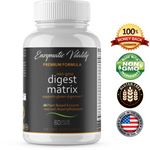Digestive Enzyme Supplements - Digest Matrix 18 Powerful Enzymes - Enzymatic Vitality