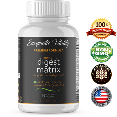 Digestive Matrix Enzyme Supplement